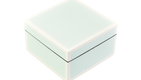 Five Side Duck Egg Blue with White- Square Box