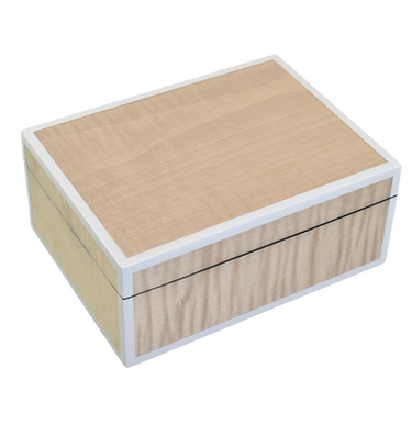Sycamore with Silver Dollar- Medium Box