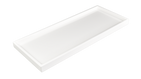 White- Long Vanity Tray