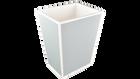 Cool Gray White Trim- Rectangular Waste Breakfast