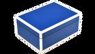 True Blue with White Trim- Medium Box