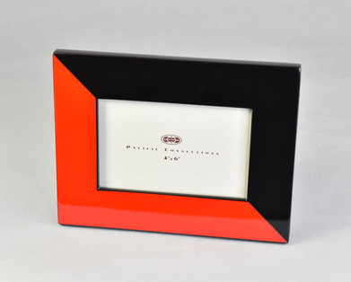 """Red """"N"""" Black- Picture Frame"""