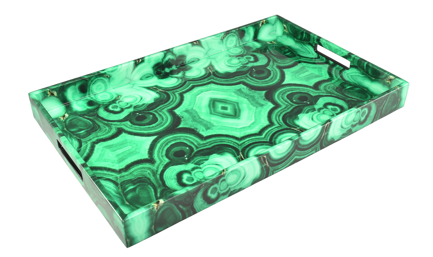 Malachite - Breakfast Tray