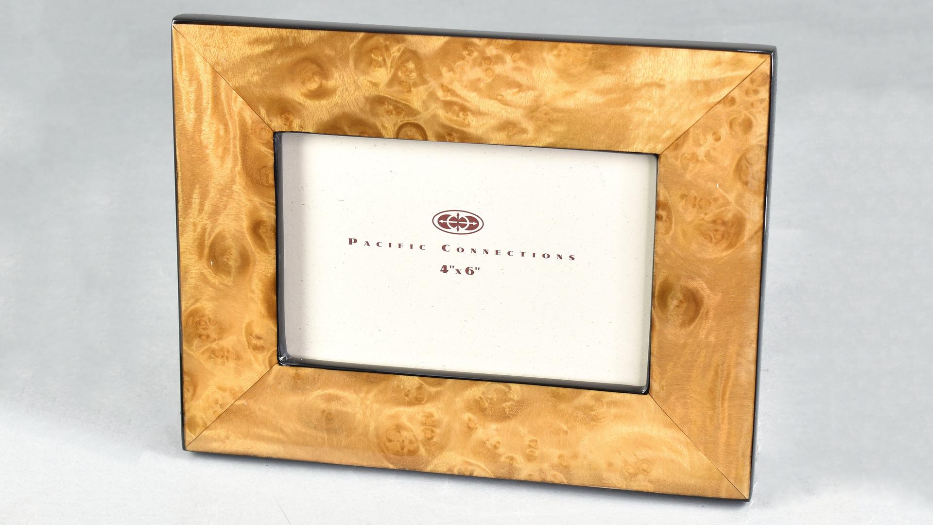 Walnut Burl- Picture Frame