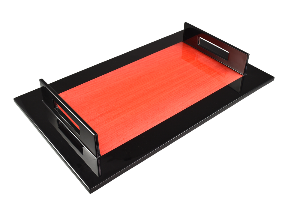 "Red ""N"" Black- A-Tray"