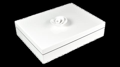 White- Stationery Box