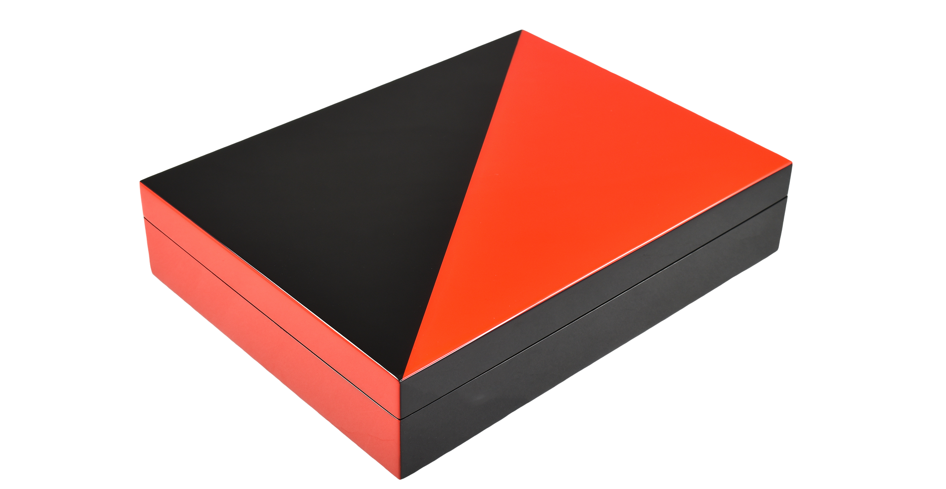 "Red ""N"" Black- Stationery Box"
