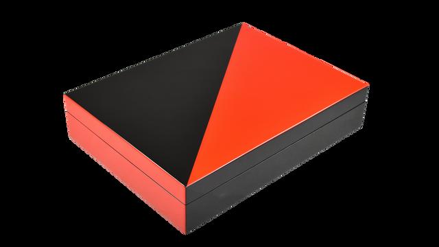"Red ""N"" Black- Stationery Box"