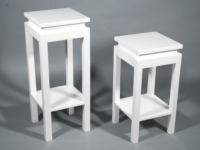 Ming Stand Set- White