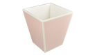 Paris Pink with White Trim- Waste Basket