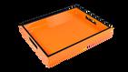 Orange with Black Trim- Reiko Tray