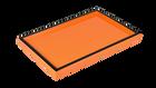 Orange Black Trim- Vanity Tray