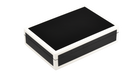Black with White Trim- Playing Card Box