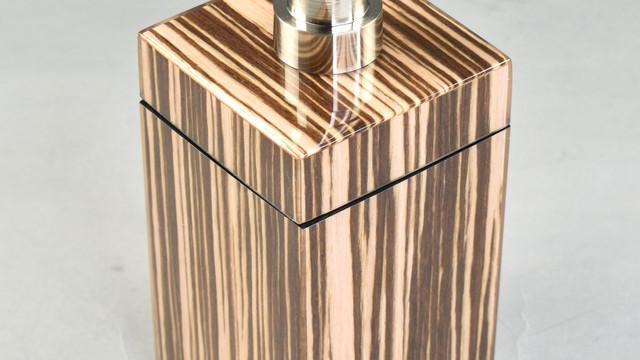Zebra Wood- Lotion Pump