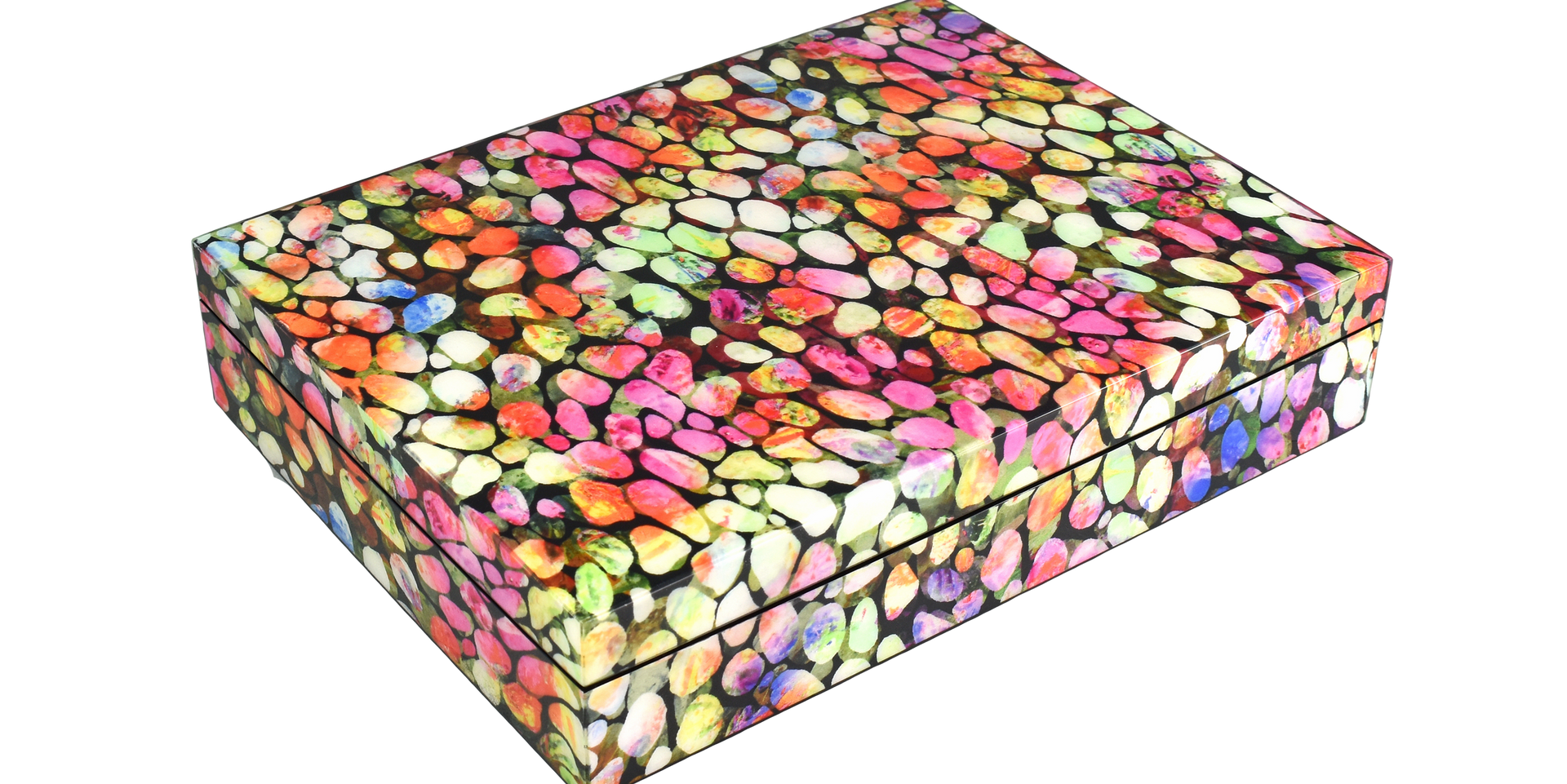 Color Pebbles- Stationery Box