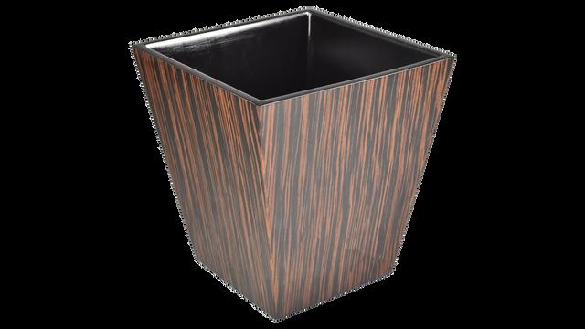 Macassar Ebony- Waste Basket