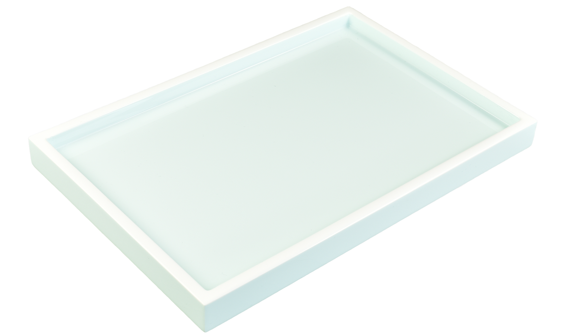 Duck Egg Blue with White- Vanity Tray