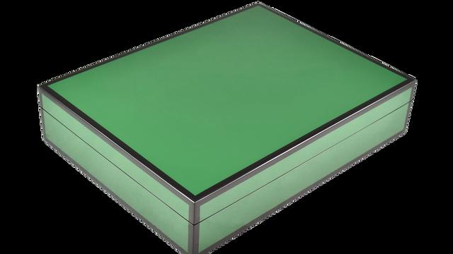 Hunter Green- Stationery Box