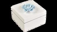 White- Square Handle Box