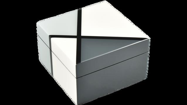 Natural Deco- Sqaure Box