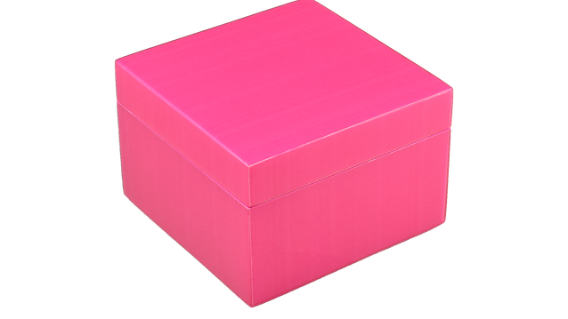 Hot Pink- Square Box