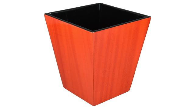 Red Tulipwood- Waste Basket