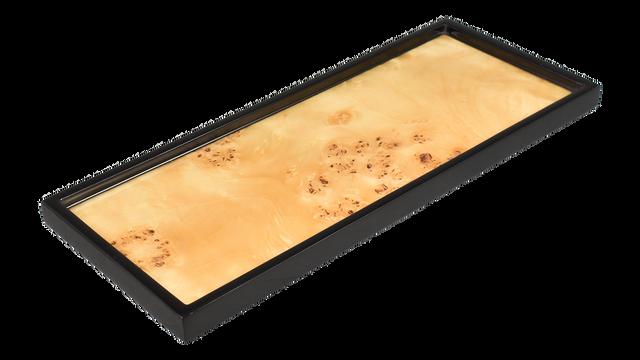 Mappa Burl- Long Vanity Tray
