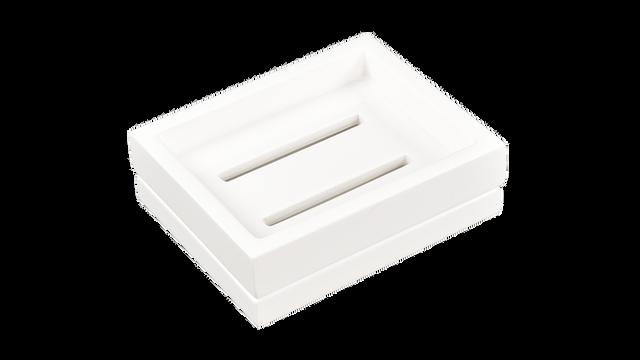 White- Soap Dish