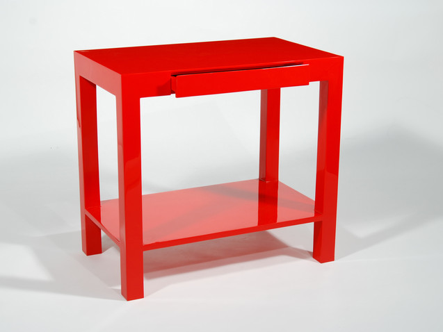 Lindo Console Table-  Red