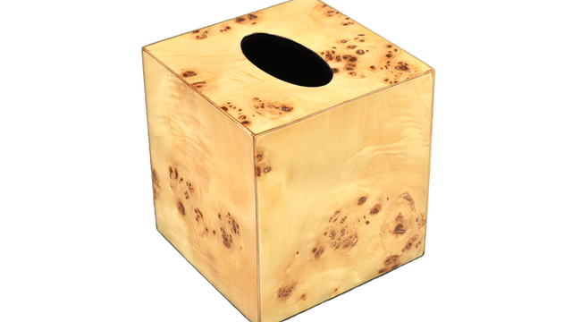 Mappa Burl- Tissue Box