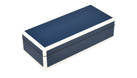 Five Side Navy Blue with White -