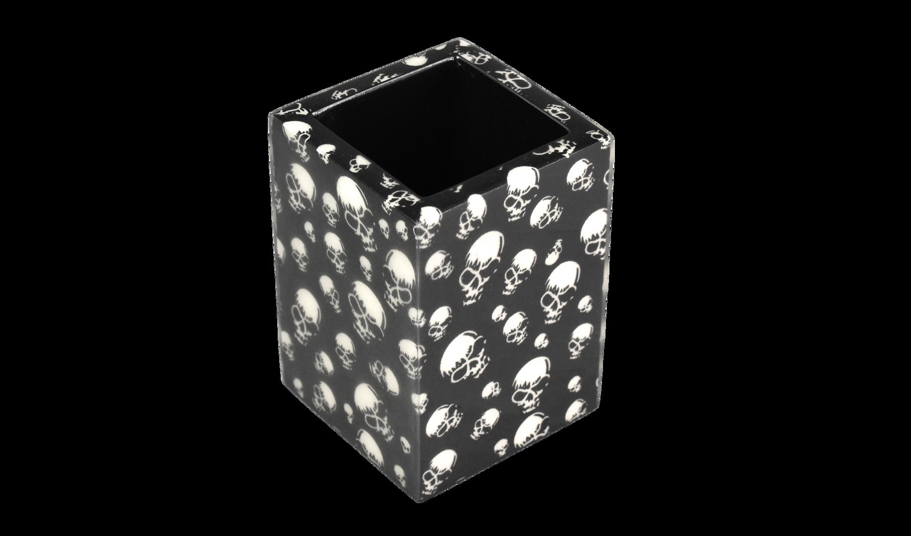 Skulls- Brush Cup