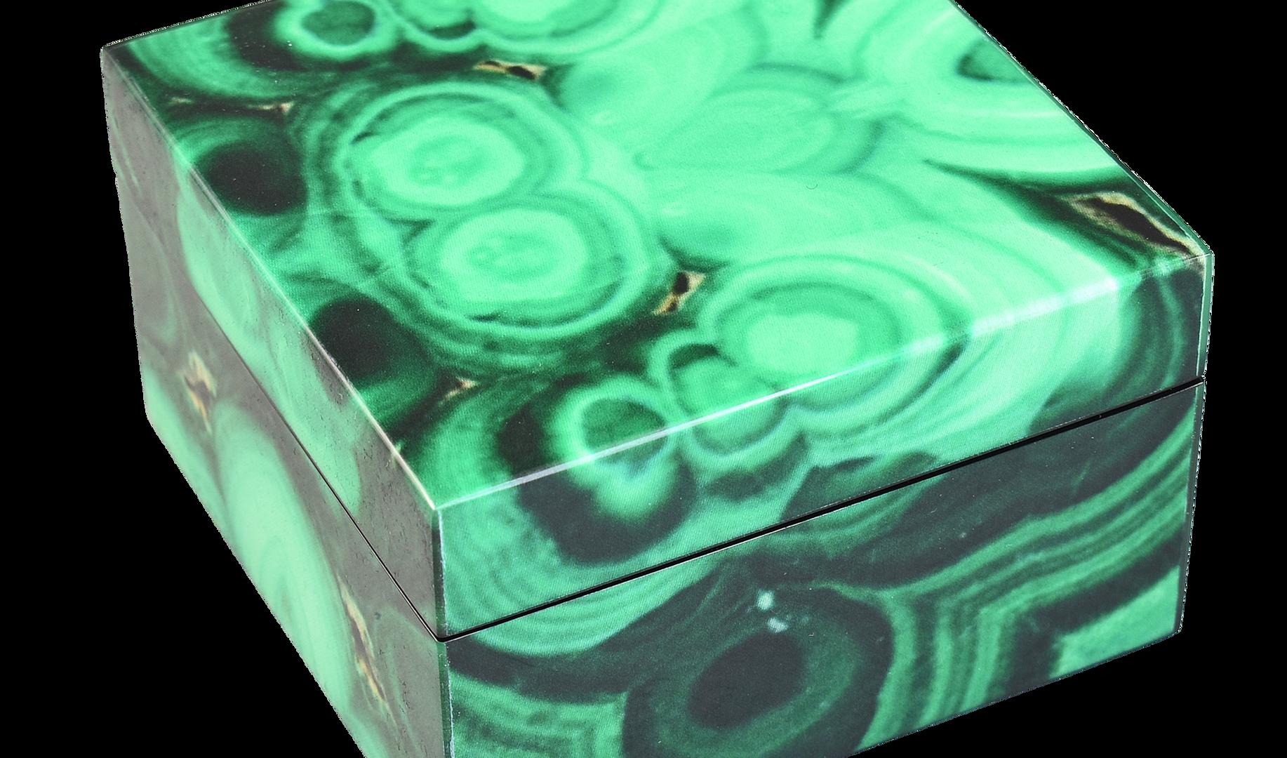 Malachite- Square Box