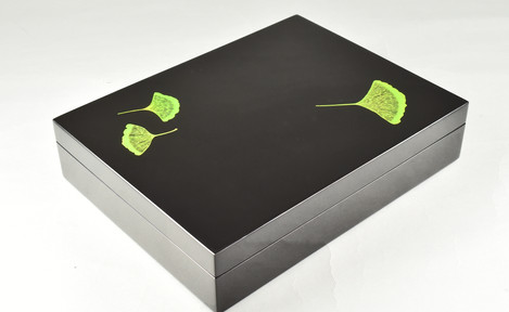 Ginko Leaf- Stationery Box