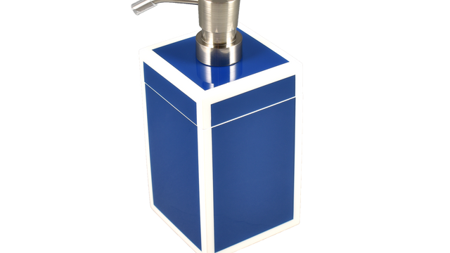 True Blue White Trim- Lotion Pump