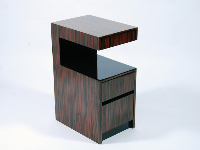 Milan Table- Macassar Ebony