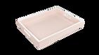 Paris Pink White Trim- Reiko Tray
