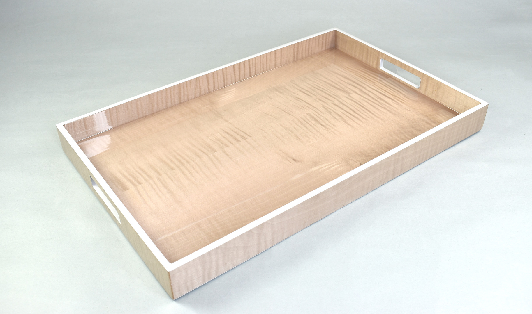 Sycamore with Silver Dollar- Breakfast Tray