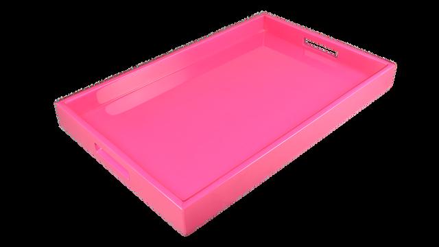 Hot Pink- Breakfast Tray