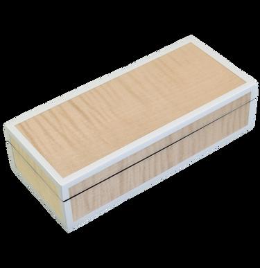 Sycamore with Silver Dollar- Pencil Box
