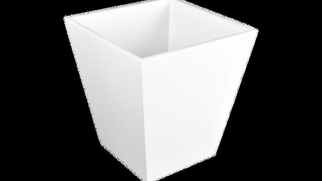 White- Waste Basket