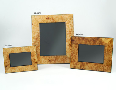 Walnut Burl- Picture Frames