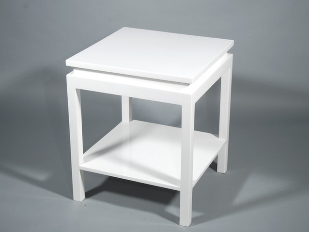 Ming Side Table- White