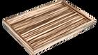 Zebra Wood- Vanity Tray