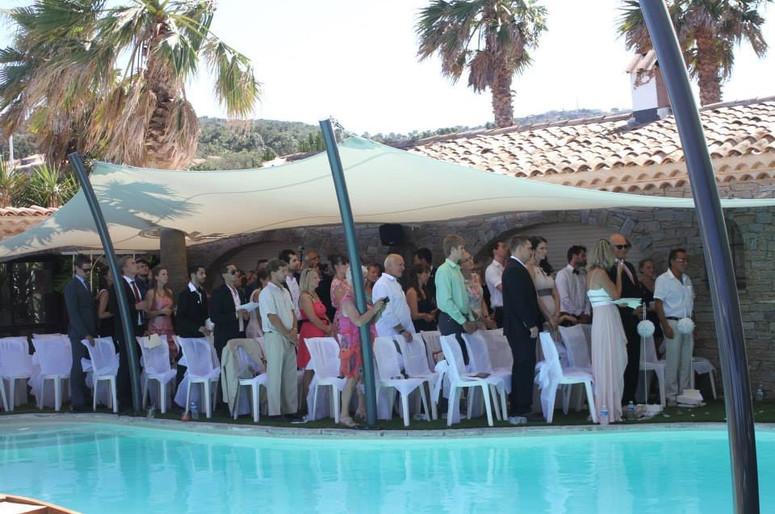 Ceremonie piscine