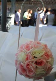 Fleur boule décoration