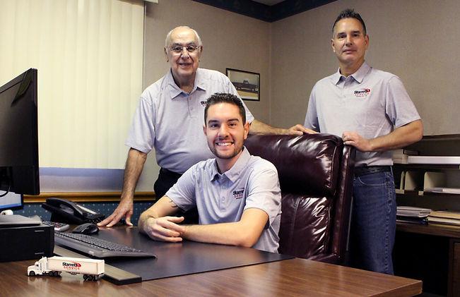 Norman Boss, Dwayne Boss & Taylor Boss