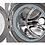 Thumbnail: Lavadora LG 22 kg plata WM22VV2S6.WD100CV
