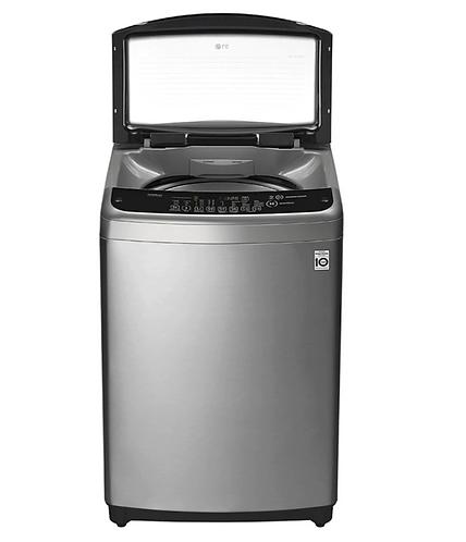 Lavadora LG 19 kg acero WT19VSB