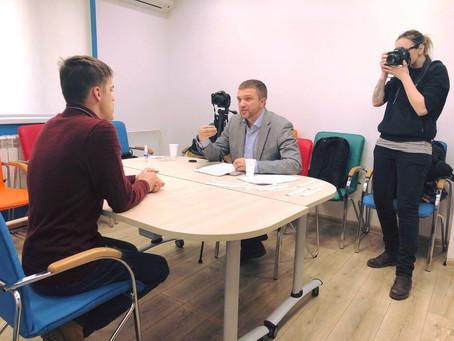 Фото-отчет первой записи портфолио проекта «Работать? Можем!»